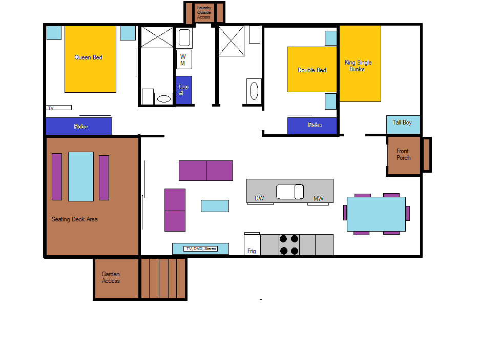 Currowan Floorplan